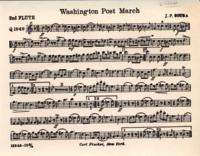 Washington Post March Sheet Music