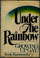 """Under the Rainbow"" Cover and Inside Inscription"