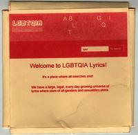 Welcome to LGBTQIA Lyrics!