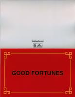 Good Fortunes New Year's Card