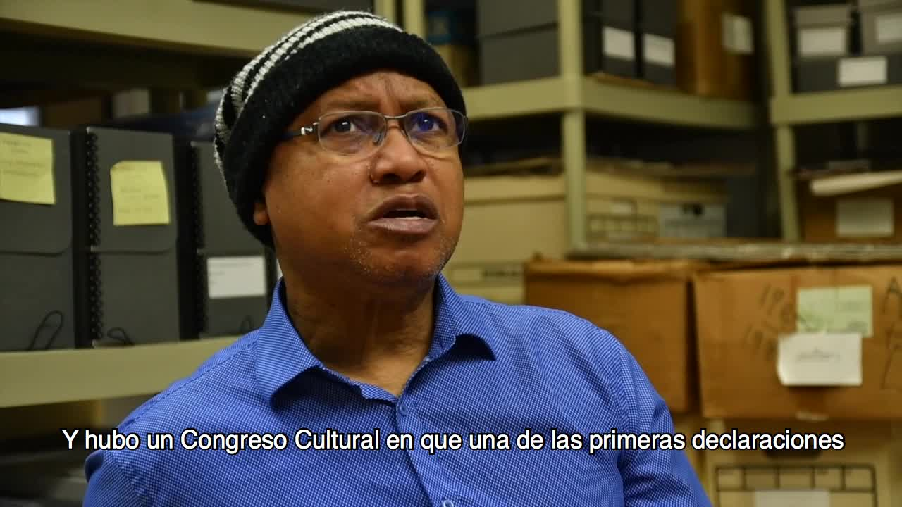 Excerpt from oral history interview of Eloy Guzmán