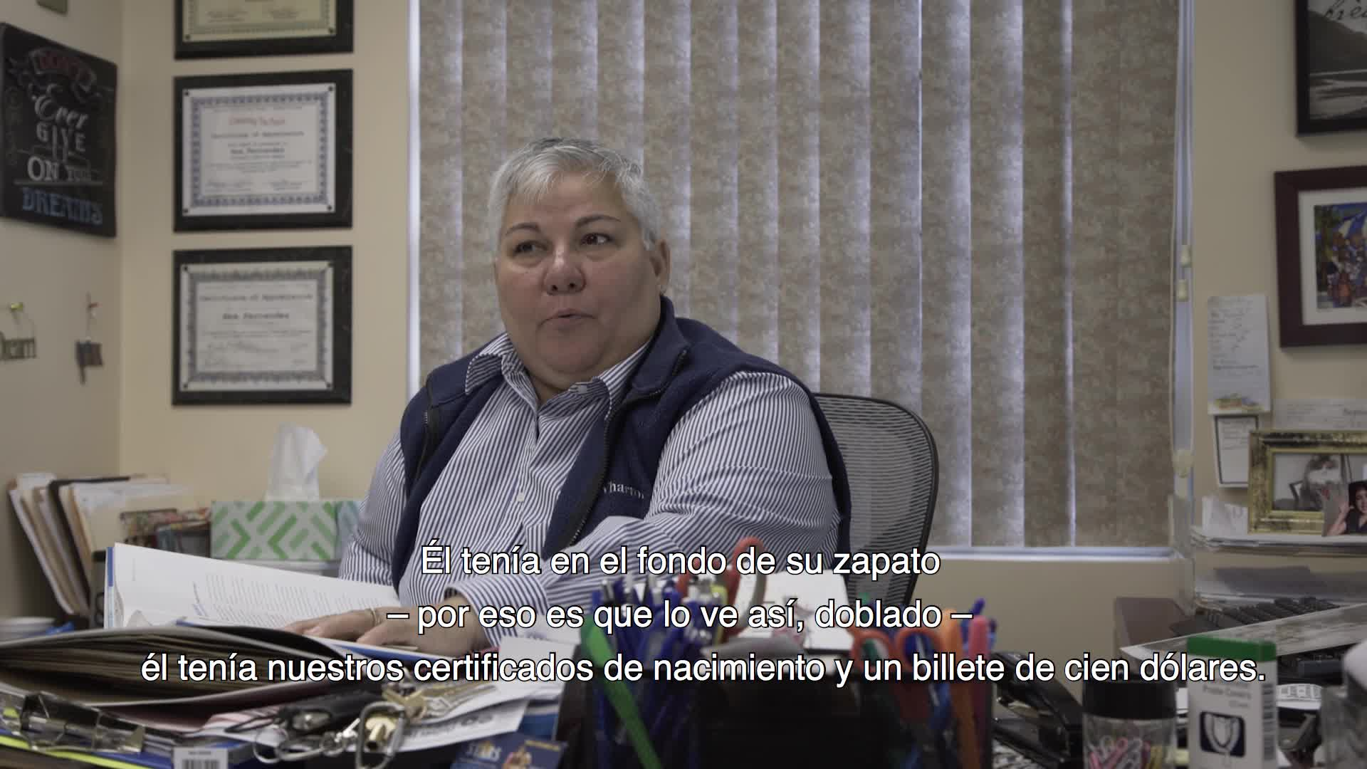 Excerpt from oral history interview of Ana Fernández