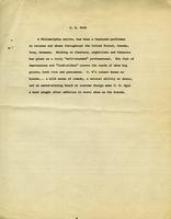 Cover letter of G.W. Ogie.