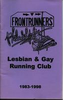 Frontrunners Philadelphia 15th Anniversary Pamphlet