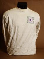 Frontrunners Philadelphia 10th anniversary long-sleeved white t-shirt