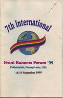 Frontrunners Forum 1999 Newsletter